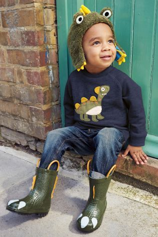 Buy Green Monster Wellies (Younger Boys) online today at Next: United States of America