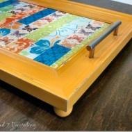 My Beautiful Painted strikeGlass/strike Plastic Chandelier