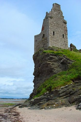 Greenan Castle in South Ayrshire, Scotland
