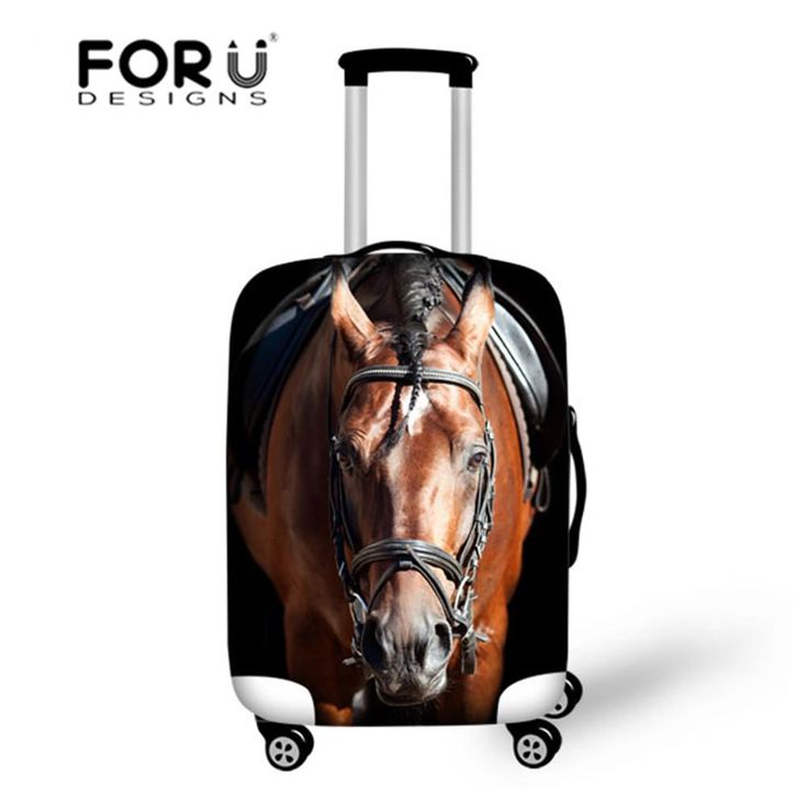 Crazy Horse Black Cat Travel Luggage Cover Protective Suitcase Cover Trolley Case Travel Luggage Dust Covers for 18 - 30 inch  #men #me #Samsungs8 #teens #gloves #fishermenbates #fishingrod #followme #Samsung #groom #apple #fishingclub #photooftheday #school #sale
