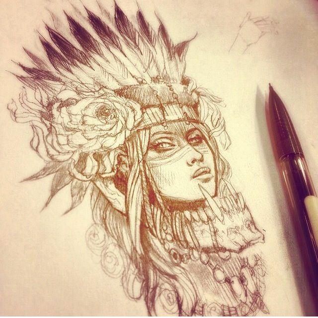 Headdress concept idea