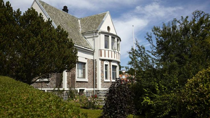 Hus i Arendal. Foto: Per Erik Jæger.