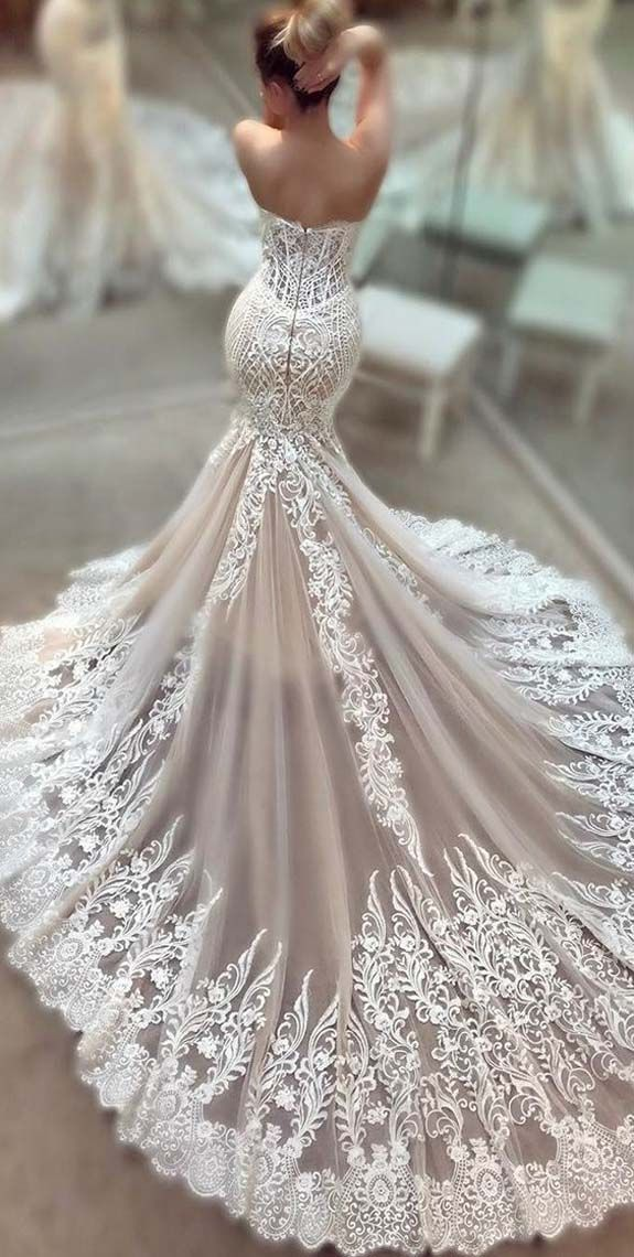Beautiful Lace Wedding Dresses 2017