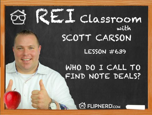 Scott Carson lets us in on who to ask for when calling a bank about finding non-performing notes. He also shares keywords to mention and what not to say.