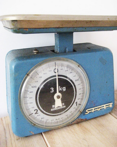 Fashion Typography Vintage Scales Kitchen Interior Styling Netherlands Light Blue Attic Stylists