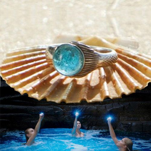 The Real Mako Mermaid Ring Sterling Silver 925 + FREE Shell Box! size 4 to 10 Mako Island of Secrets MoonPool Moon Pool Sirena Lyla Nixie by thesilverart on Etsy https://www.etsy.com/listing/111173988/the-real-mako-mermaid-ring-sterling