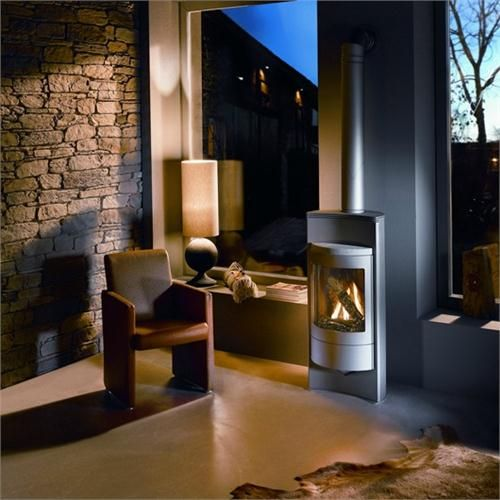 gas fired fireplaces. Luno Gas Fired Stove by HearthStone on HomePortfolio 26 best Options images Pinterest  stove Direct