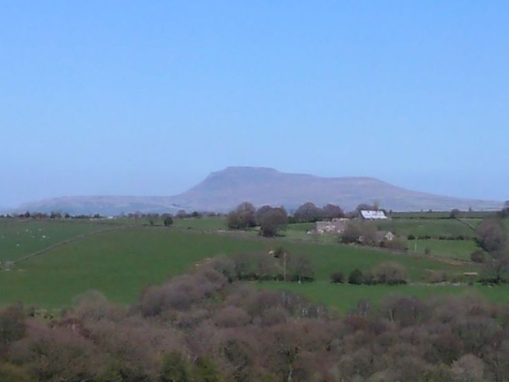 Ingleborough, one of the so called Three Peaks of the Yorkshire Dales National Park. 2,376 ft.