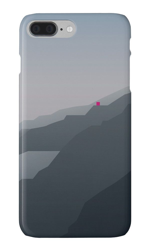"""For every new #iPhone7, there's a perfect #case."" Find out on my @Redbubble > rdbl.co/2cIX36V MISTY MOUNTAINS by bembureda #apple #case #seven #new"