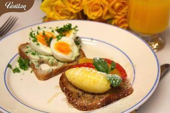 Kultakaurasta voi tehdä kahdenlaista aamupalaa, suolaista ja makeaa. Nyt on ystävälle kaksi vaihtoehtoa, kumman sinä tarjoaisit ystävällesi?
