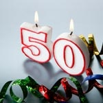 Five great 50th birthday party ideas