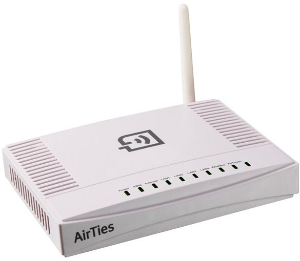 Airties Air 5341 72Mbps 11n 4 port Kablosuz Modem