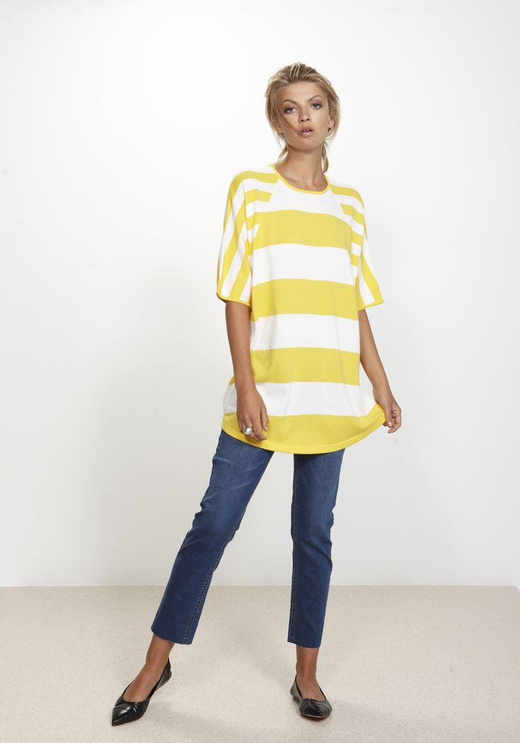 Insert Top - colour Sunshine 100% cotton http://www.nineteen46.co.nz