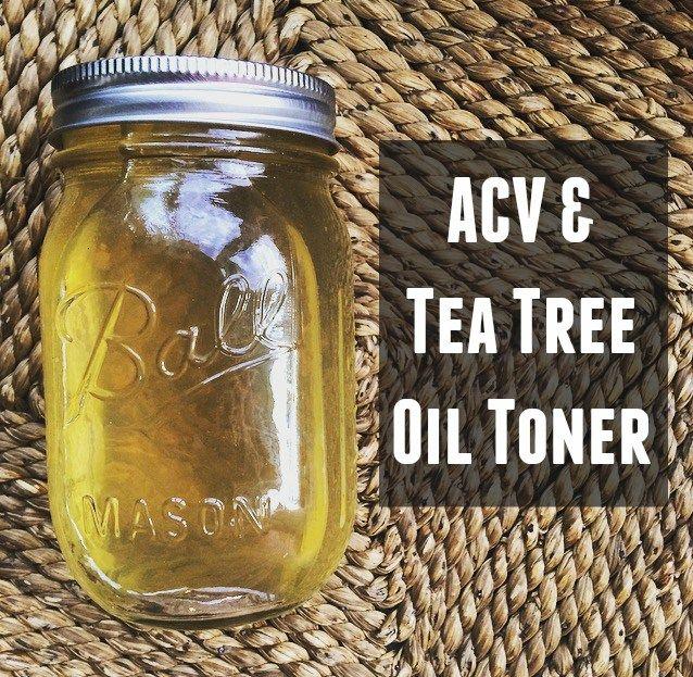 Apple Cider Vinegar + Tea Tree Oil Toner