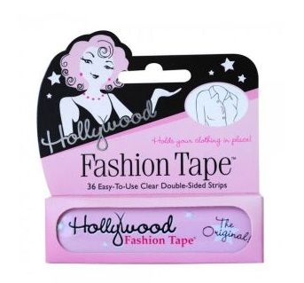 I would not be without this tape spare in my drawers. Great to have for the fashion emergency. HOLLYWOOD FASHION TAPE