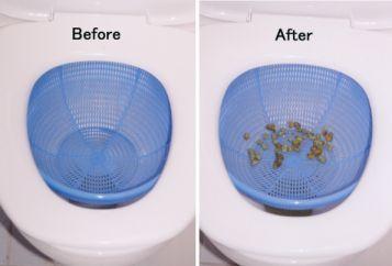 Liver flush - Use of Colander