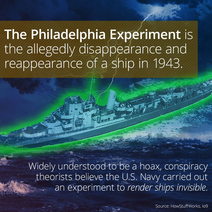 What Is The Philadelphia Experiment Conspiracy Theory?