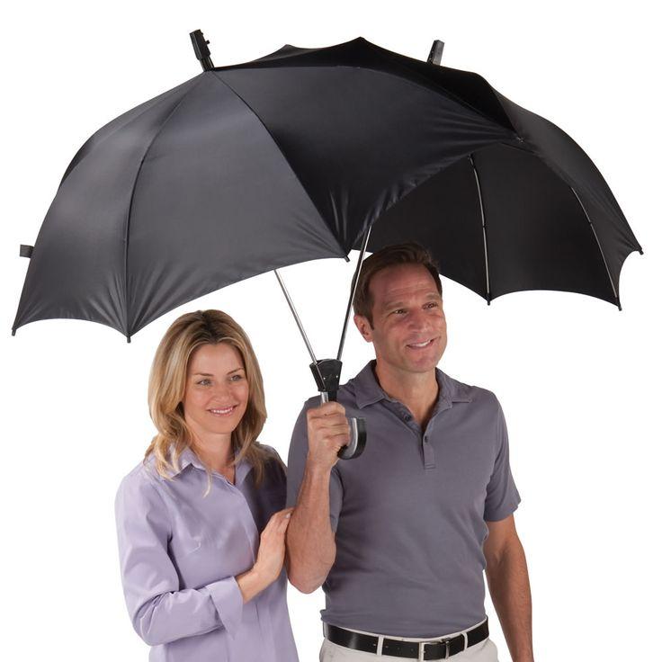 The Dualbrella - Hammacher Schlemmer