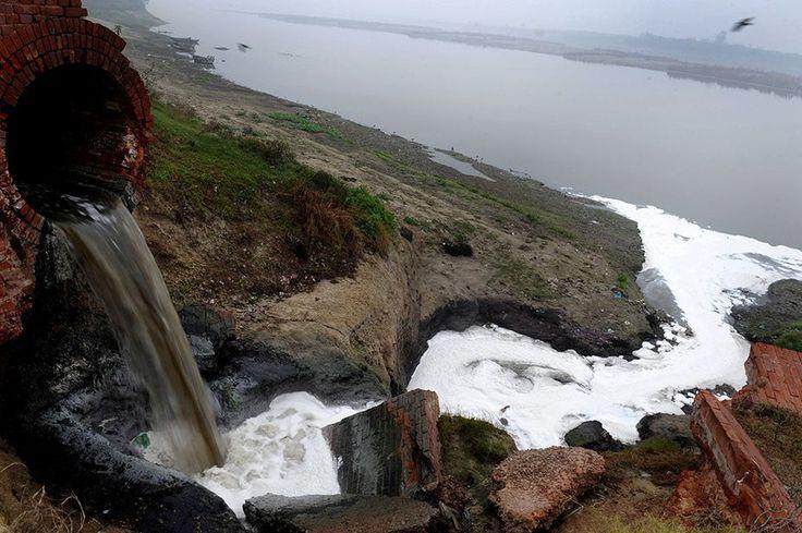 Le Gange serpente sur 3.000 km à travers le nord de l'Inde, des glaciers de l'Himalaya au Golfe du Bengale, apportant l'eau à 500 millions de personnes. Il traverse cinq Etats (Uttarakhand, Uttar Pradesh, Bihar, Jharkhand et Bengale) et de nombreuses grandes villes. Lesquelles génèrent quelque trois milliards de litres d'eaux usées par jour. Seul un tiers des eaux sales est nettoyé par une cinquantaine d'usines de retraitement des eaux usées. Le reste est rejeté dans le Gange. Ses affluents…