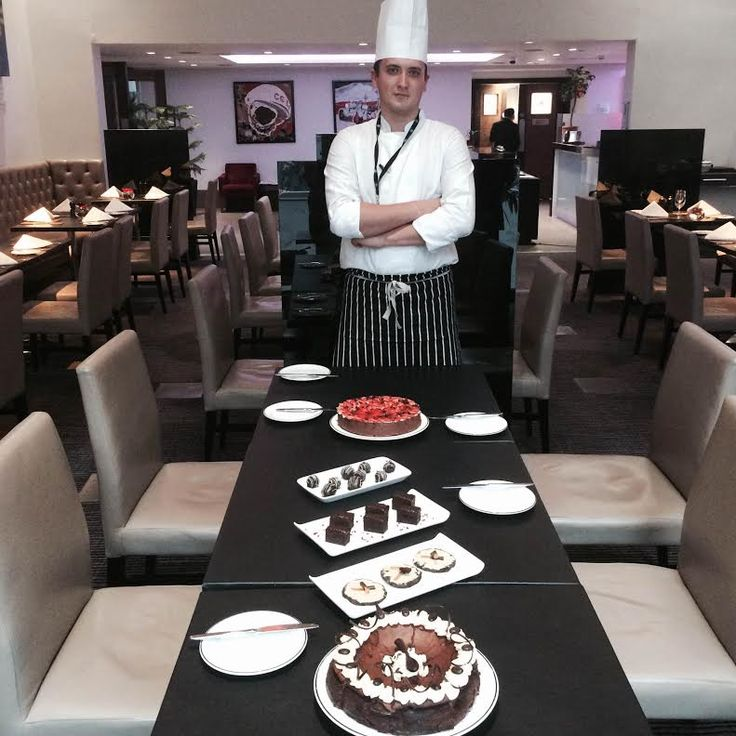 #Chocolate Recipe Competition at Grange Tower Bridge Hotel, with Pastry Chef Aleksandrs Taukulis