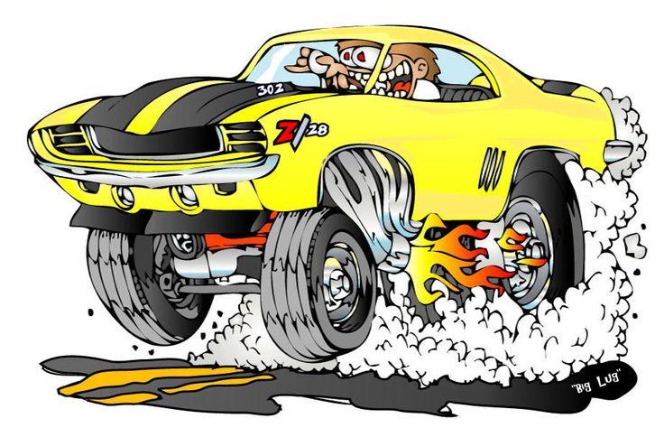 rat rods cartoons | Hot Rod CARtoons-Creekrat CARtoons ...