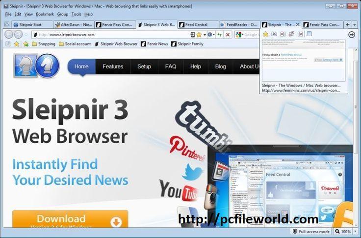 Sleipnir Browser v6.2.8 Web Browser Free Download