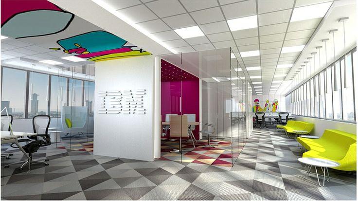 IBM, Madrid, 2014. Design&Illustration by Laura Ramón Frontelo
