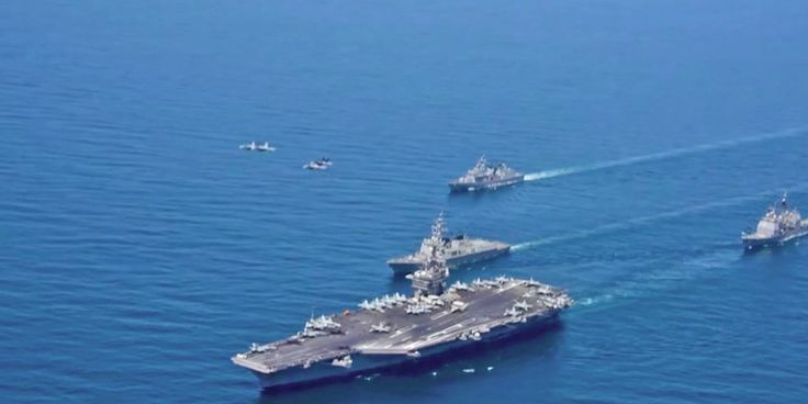 South Korea wants to 'punish' North Korea with US aircraft carriers and nuclear submarines http://www.businessinsider.com/south-korea-punish-north-korea-us-aircraft-carriers-nuclear-submarines-2017-9?utm_campaign=crowdfire&utm_content=crowdfire&utm_medium=social&utm_source=pinterest