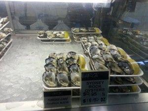 Oyster bar@Magons