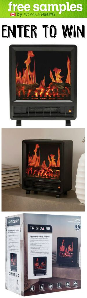 #Win A #Frigidaire Fireplace