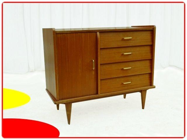 Commode Buffet Vintage 1960 V Meubles Vintage Scandinaves Meuble Vintage Mobilier De Salon Decoration Retro