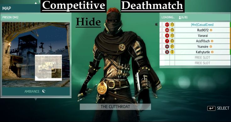 Competitive DM (Stealthy) - Hide