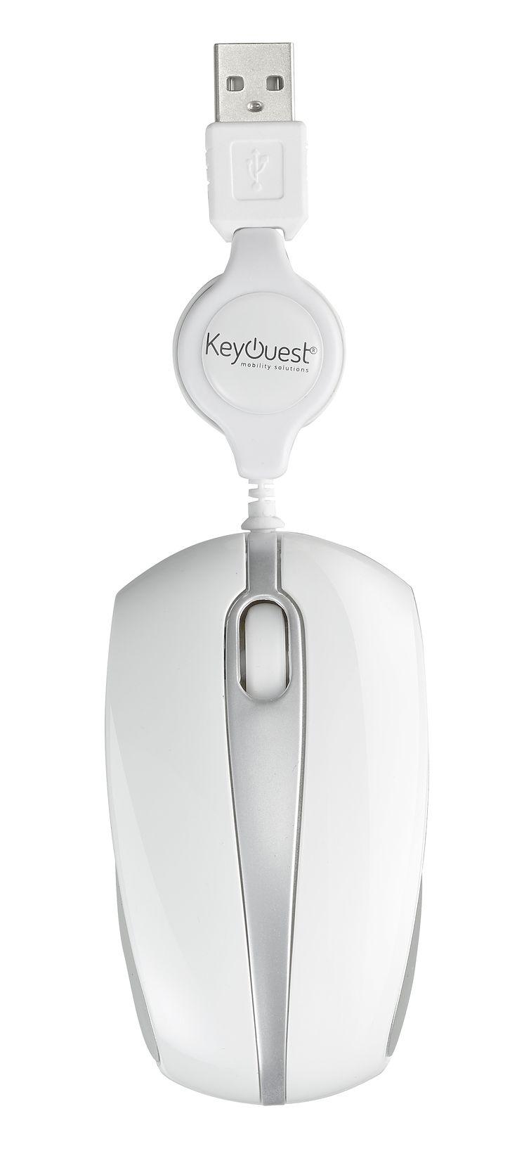 Mini souris filaire rétractable MOVE-IT Blanche - KeyOuest http://www.keyouest-mobility.com/produits/mini-souris-filaire-retractable-move-it-keyouest-2/