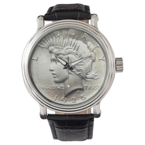 #watches #wristwatches Peace Dollar Watch - click/tap to personalize