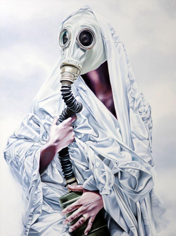 Philippe Huart, État de grâce Gnadenstand / State of Grace 2015, Oil on canvas / Öl auf Leinwand, 130 x 97 cm