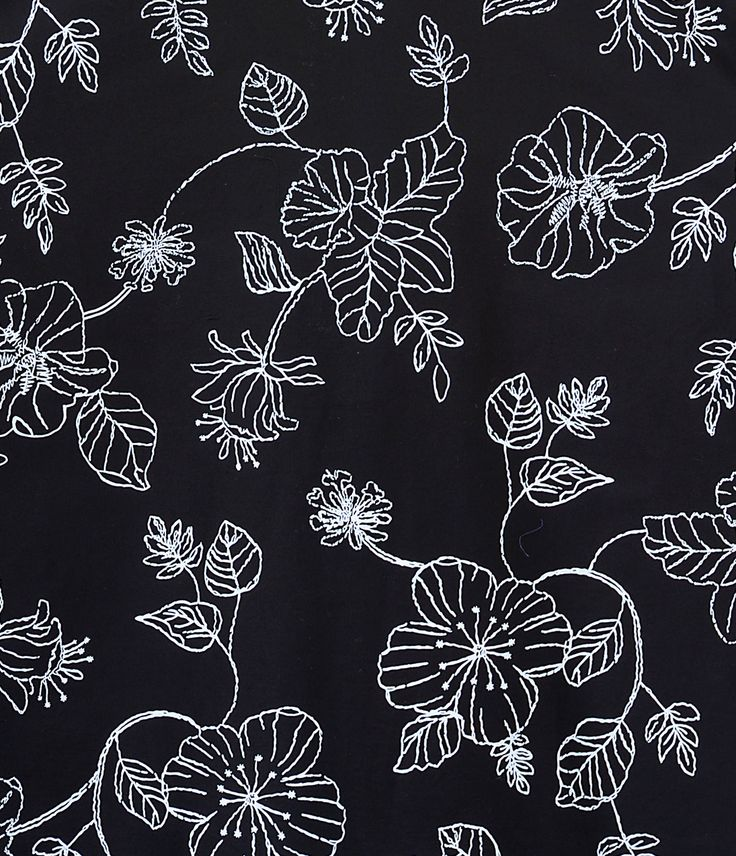 28 best images about Floral Print | Black & White on ...