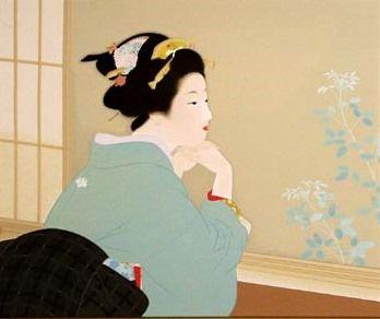 """Young Leaves"" (1940) • Uemura Shoen."