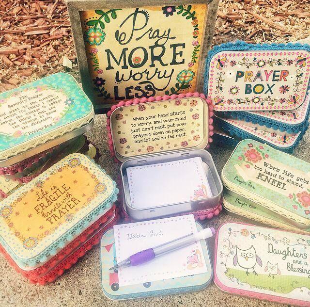 Altoid Tin Prayer Box - Buscar con Google                                                                                                                                                                                 More