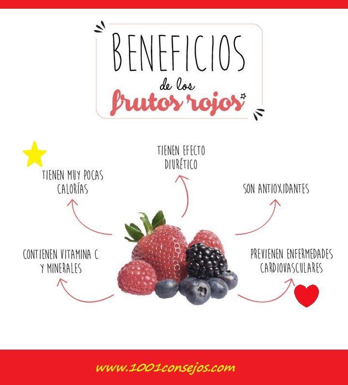 La fresa, frambuesa y mora entre otras, son conocidos como frutos rojos. Conoce a continuación un poco más acerca de sus beneficios.