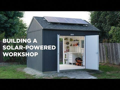 Im Back On Dahboo77 As The Main Channel But I Also Upload A Lot Go Live On Here Dahboo777 8 11 17 I Deliv Building A Shed Best Solar Panels Solar Projects