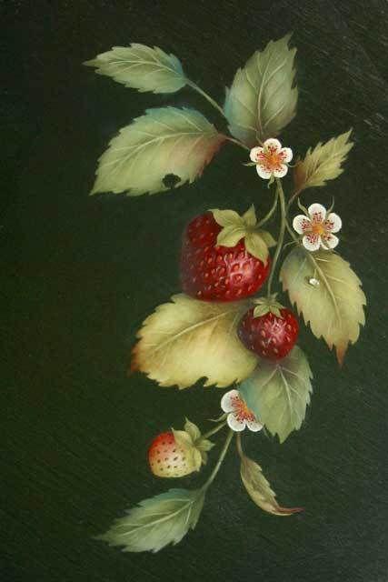Fraises sauvages - Sharon Hamilton, MDA