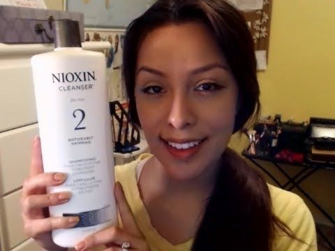 NIOXIN Shampoo & Conditioner For Thin Hair - YouTube