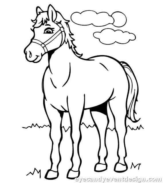 pin on 20 ausmalbilder pferde mit fohlen zum ausdrucken