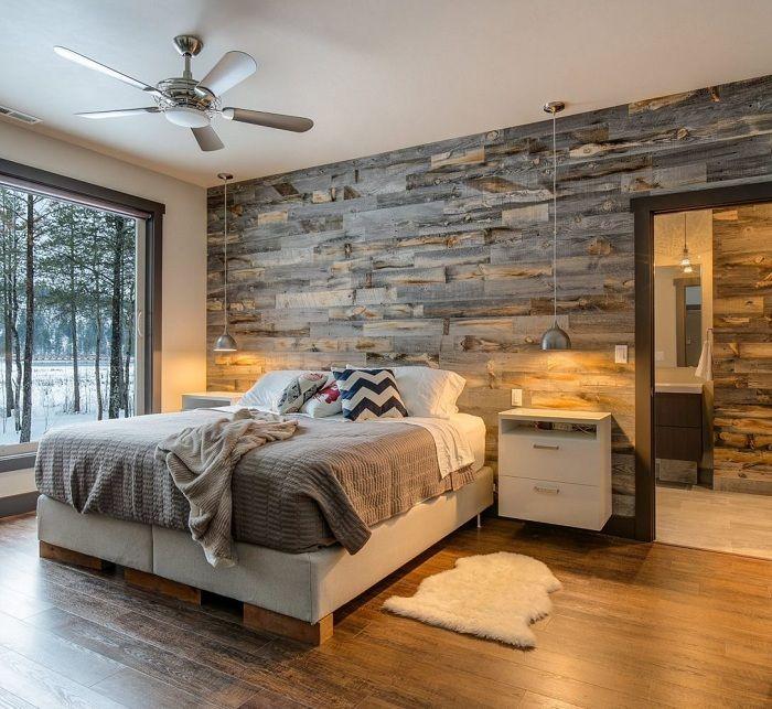 Прекрасный интерьер спальни, что станет просто находкой для приятного оформления комнаты для сладких снов.