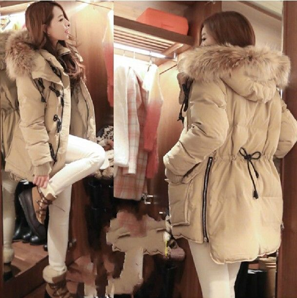 New Fashion Style Womens Jacket Hooded winter down coat Long Puffer Warm Parka  #other #BasicCoat