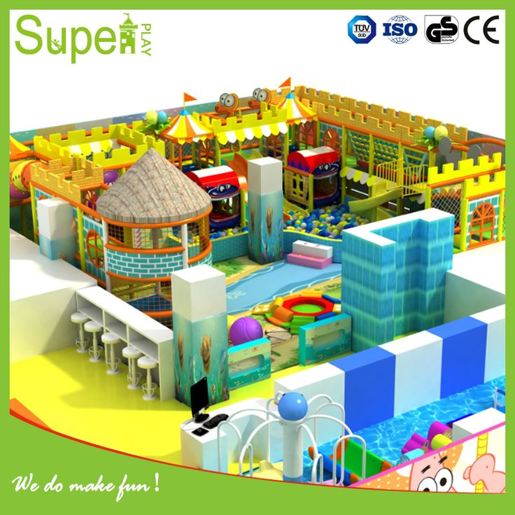Amusement Park Candy Theme Kids Indoor Playground For Sale