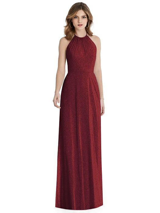 c94f35d1617 After Six Shimmer Bridesmaid Dress 1515LS in 2019