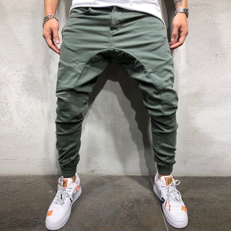 Cargo Pants Men, Mens Joggers, Sport Pants, Pants For Men, Drop Crotch Joggers, Bermudas Shorts, Sweatpants Style, Jogger Pants Style, Outfits Hombre