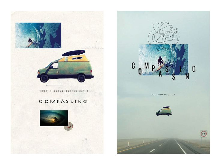 COMPASSING A SURF MOVIE BY REEF X CYRUS SUTTON on Behance