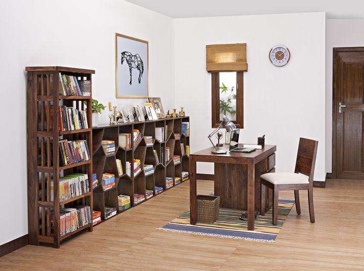 Bradbury Desk Oribi Chair Honeycomb Book Shelf Rhodes